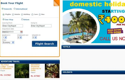 Travel Portal Solutions